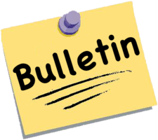 Bulletin - Monday January 23rd